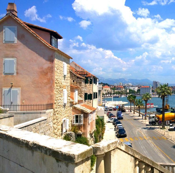 Another beautiful day in Split, Croatia.