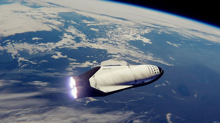 """SpaceX's 1st Mars Colonial Transporter """"Heart of Gold"""" performs its Trans-Mars Injection burn"""