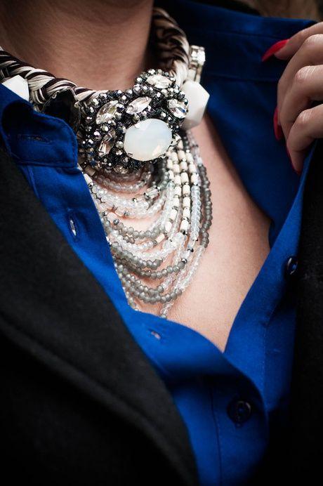 FashionWall | stylizacja blogerki Impresssja | Dział Moda | Sezon Jesień 2014 | COBALt