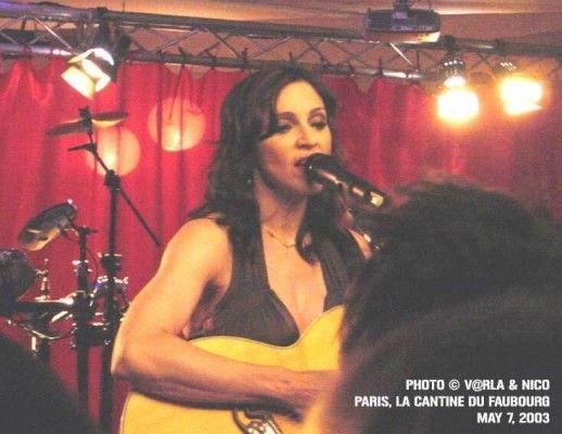 Madonna à la cantine du Faubourg (2003)