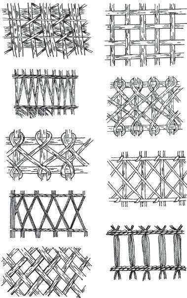Плетеная мебель / Плетение из соломки и других материалов: