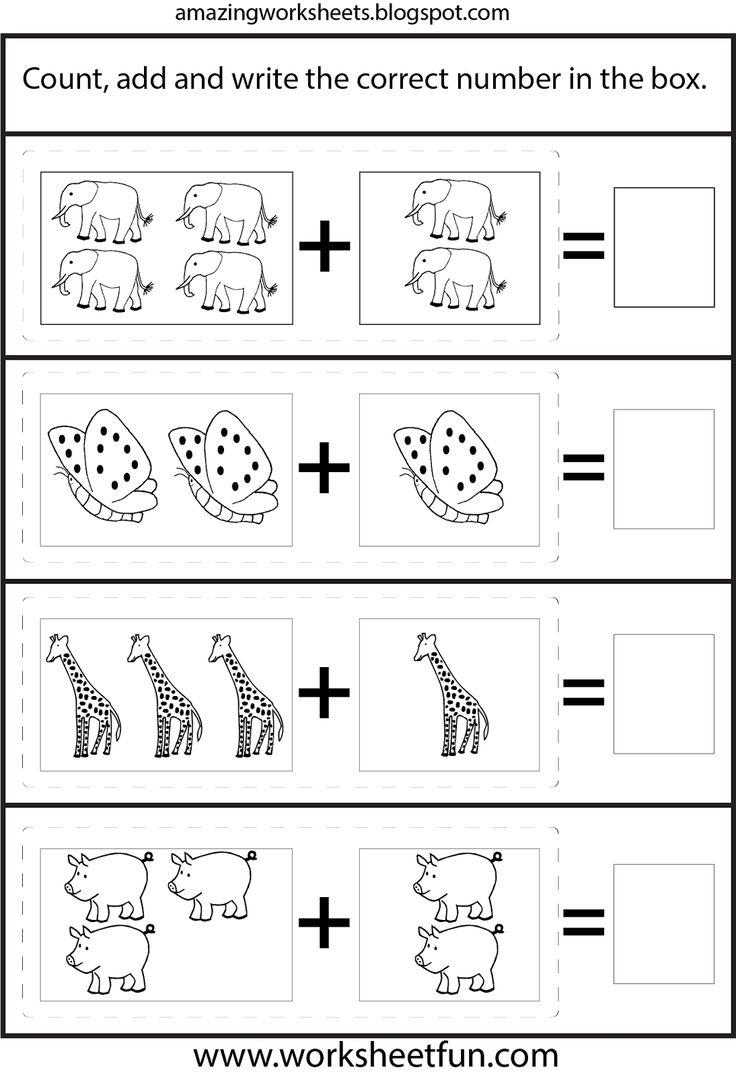 For Kindergarten Worksheetfun : Images about children worksheets on pinterest zoo