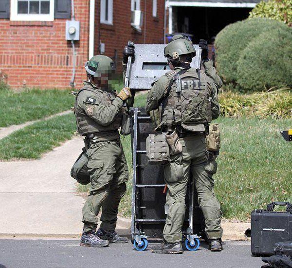 FBI(連邦捜査局) SWAT ベスト用IDパネル・パッチ   警察, 特殊部隊, 兵士