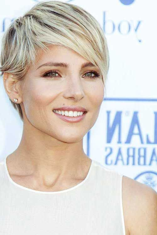 20.Blonde Pixie Cut