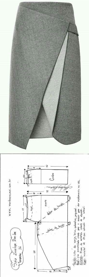 Юбки с запахом (подборка) / Юбки и их переделки / ВТОРАЯ УЛИЦА