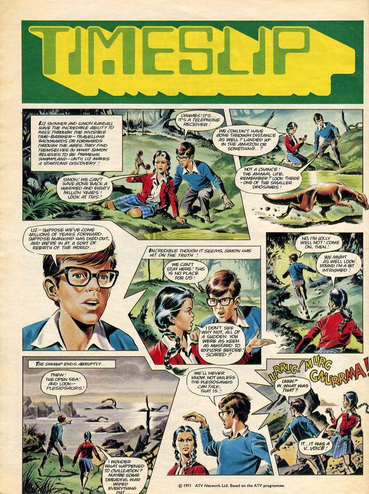 Timeslip - Mike Noble. Look-in 1971