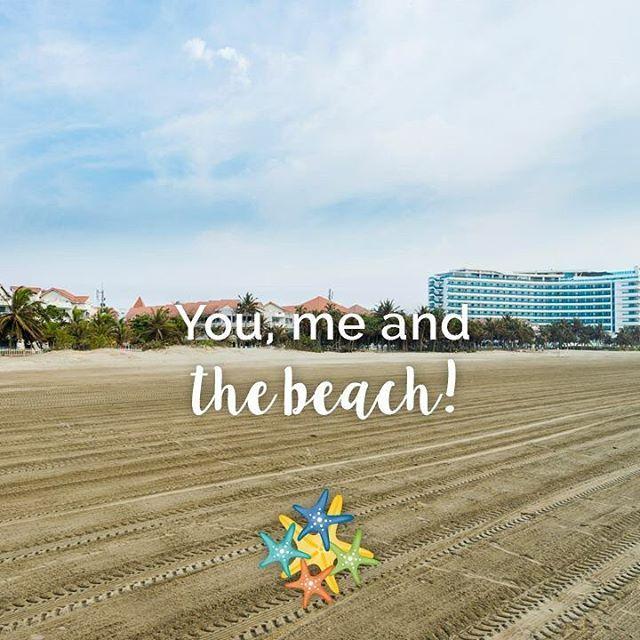 You, me and the beach… Think about it   www.hotellasamericas.com.co  #ElHoteldeLasEstrellas #MondayMotivation #Cartagena #ThePreferredLife