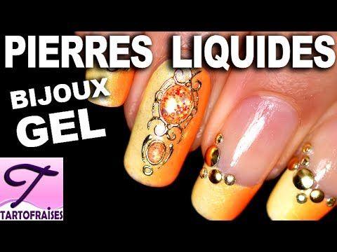 Tuto DIY Pierres Liquides : bijoux d'ongles en gel personnalisables et r...