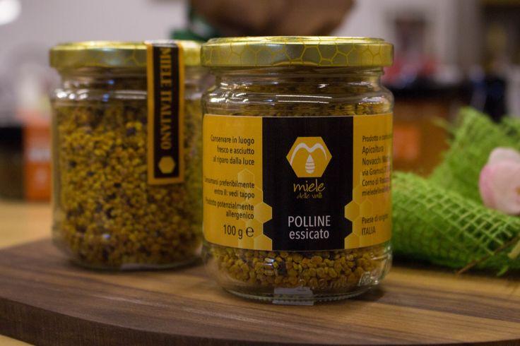 Il polline contiene sostanze e micronutrienti che stimolano le difese immunitarie e l'attività del sistema enzimatico antiossidante, ottimo integratore alimentare.