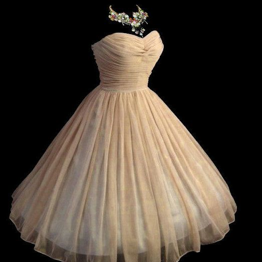 All sizes Custom Vintage 1950's 50s Style Ruched by pinkpurr
