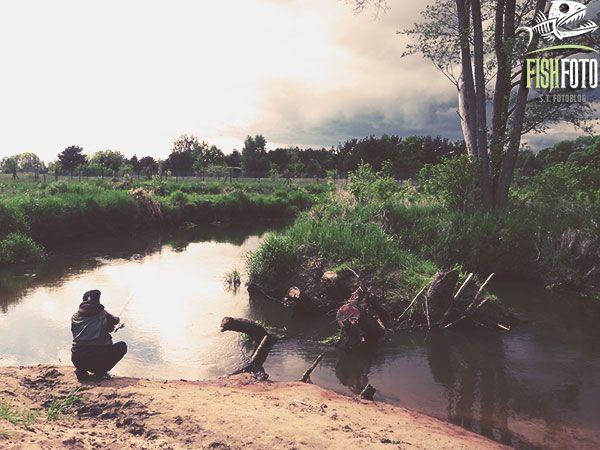 wędkarstwo na małej rzece #rzeka