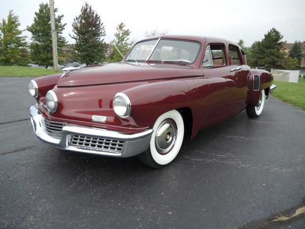 Jaw Dropper: Beautifully Restored 1948 Tucker 48 | Bring a Trailer