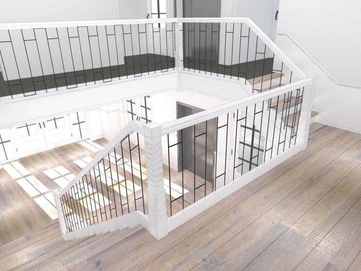 Meer dan 1000 idee n over moderne trap op pinterest trap - Trap ontwerpen ...