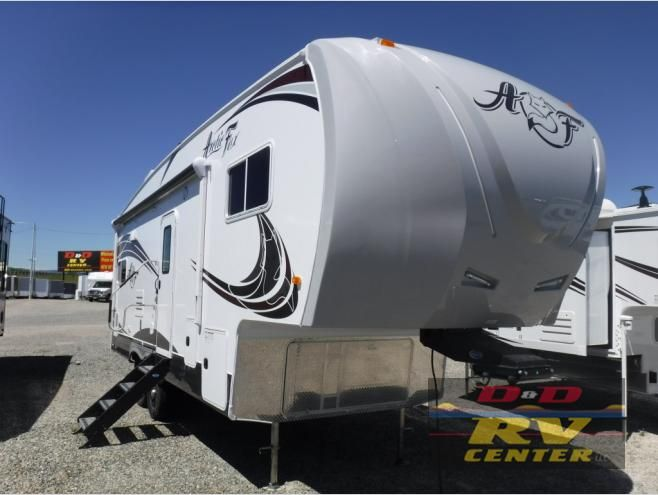 New 2019 Northwood Arctic Silver Fox Edition 27 5l Fifth Wheel At