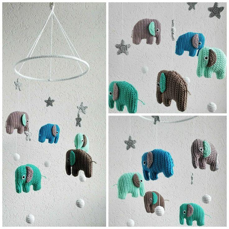 die besten 25 elefant h keln ideen auf pinterest kostenlose h kelanleitung tiere. Black Bedroom Furniture Sets. Home Design Ideas