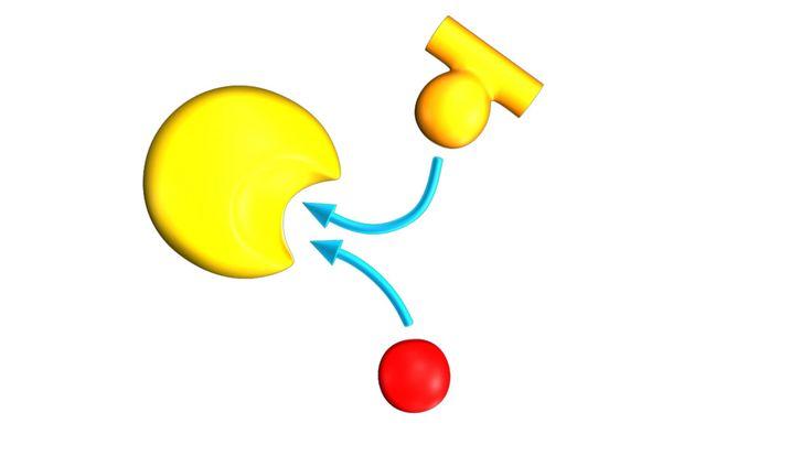 3D Competitive Inhibition Model - 3D Model