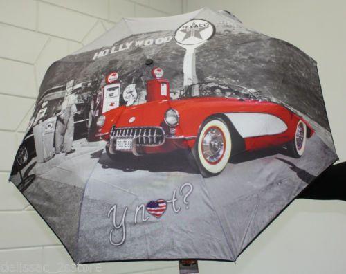 Ombrello antivento Y NOT automatico apri e chiudi stampa Holliwood http://stores.ebay.it/delissac-2sstore