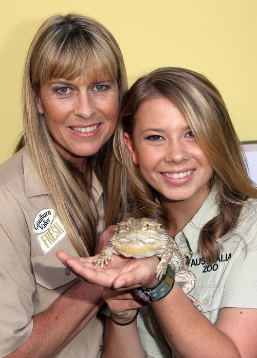 Terri and Bindi Irwin, carrying on Steve's dream.