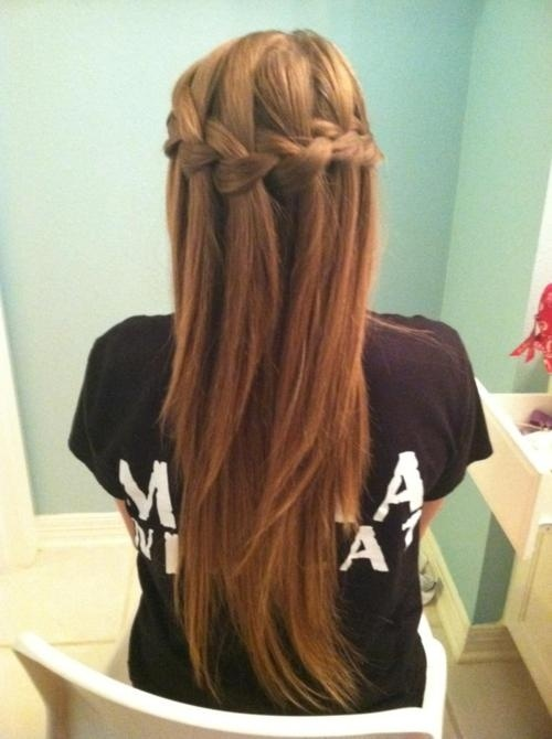 I always wear my hair curly, what if I wore it straight for prom? it'd have to get super long though.