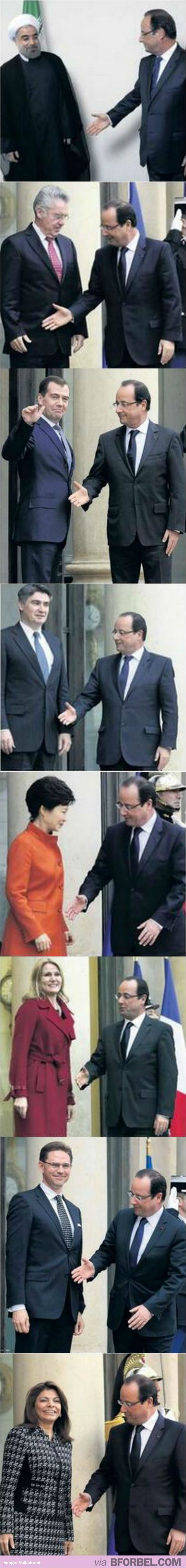 8+Times+The+French+President,+Francois+Hollande,+Failed+At+A+Handshake…