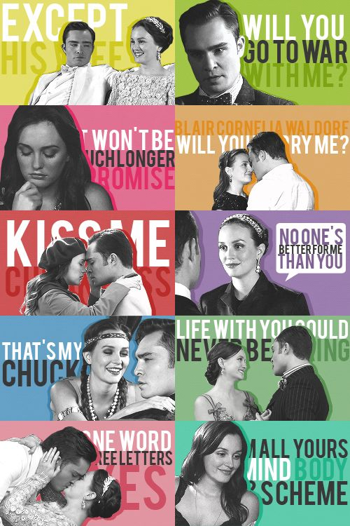 Chuck & Blair Season 6...In Love With Them