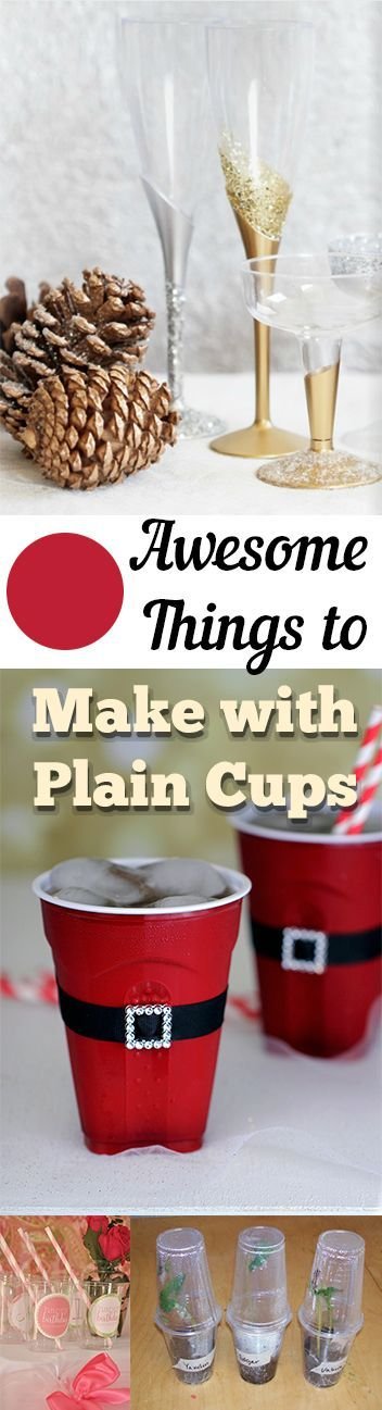 Super Amazing craft Projects you can Make with Plain Paper Cups