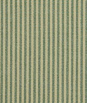 Pindler & Pindler Bentley Kelly - green & beige Oxford stripe fabric - $28.65/yd
