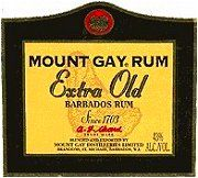 Mount Gay Rum - Extra Old Barbados Rum