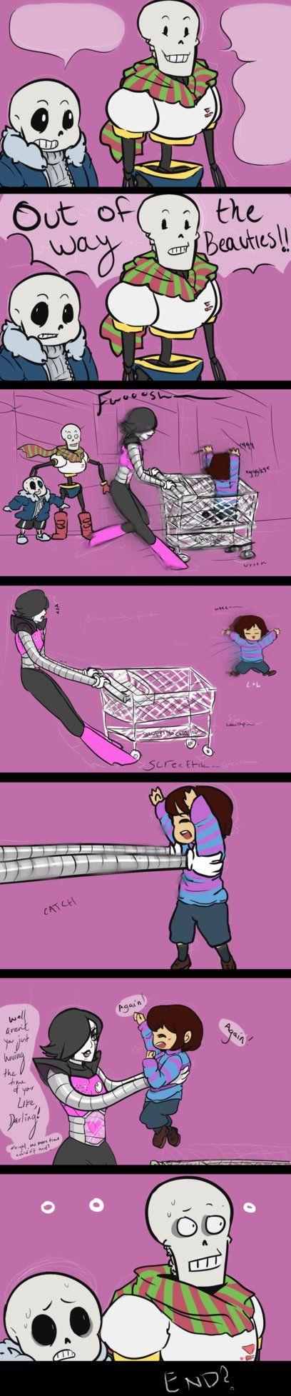 UT Mini Comic: Shopping by kanarichan on DeviantArt