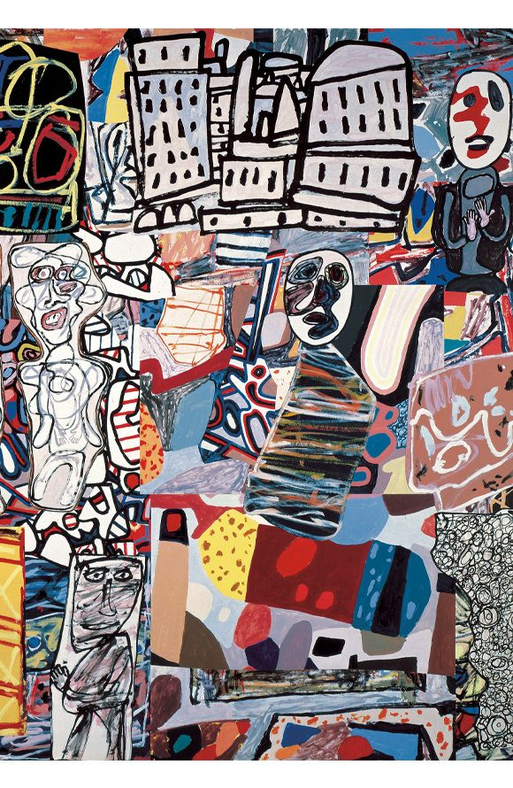 JEAN DUBUFFET (France, 1901-1985) / #ArtBrut #RawArt #Outsider / http://www.fondationbeyeler.ch