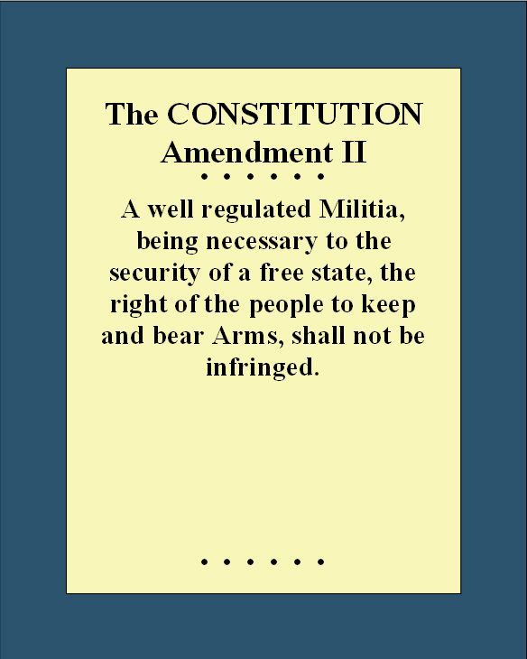bill of rights and the 2nd amendment Re: the second amendment, the bill of rights, and the constitution what the historical evidence says about the second amendment and individual rights disarming law abiding citizens is always a.