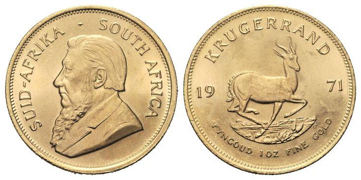 gouden krugerrand munt verkopen