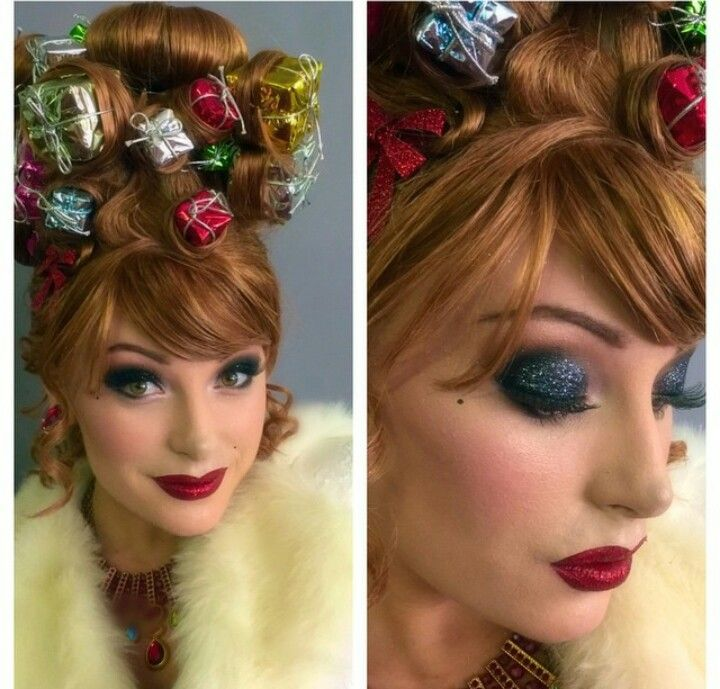 Christmas makeup: whovill