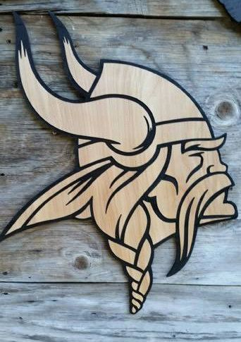 Minnesota Vikings Football Wall Decor by Southernkeeps on Etsy