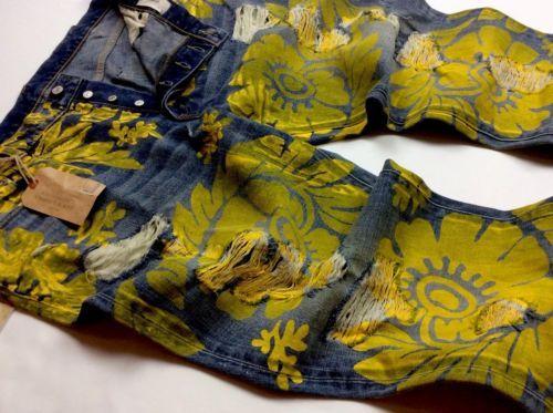 Denim-Supply-Ralph-Lauren-Men-Floral-Paint-Artwork-Distressed-Slouch-Jeans-Pants