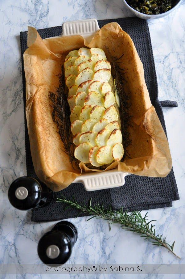 Due bionde in cucina: Polpettone di lenticchie in crosta di patate