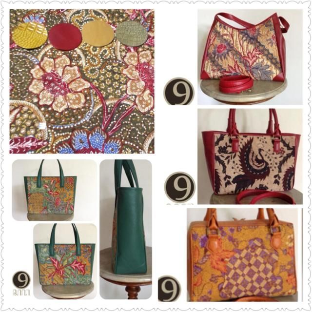 Open booking for our vintage kain batik flower pattern, would be awesome for our 4 style of bags by 9, you can go to www.facebook.com/oemi.vintage or Line mooitita for further details