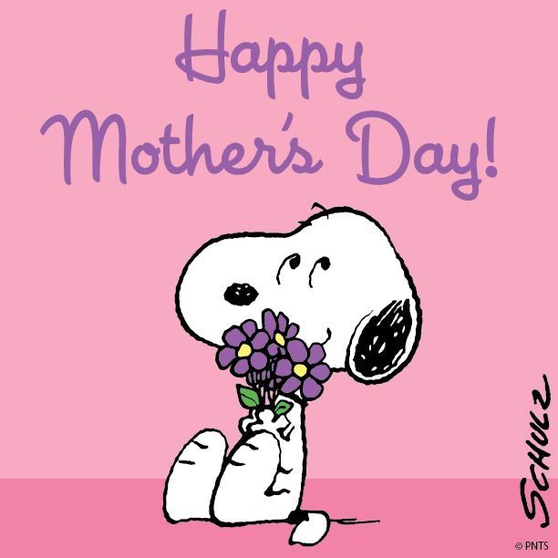 SNOOPY~HAPPY MOTHER'S DAY! You are one amazing mother. Your kids are very lucky to have a mom like you. Happy Mother's Day babe. Love u xo.