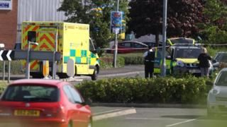 Man dies after being shot in Bangor supermarket car park