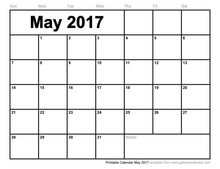 May 2017 Calendar Jamaica