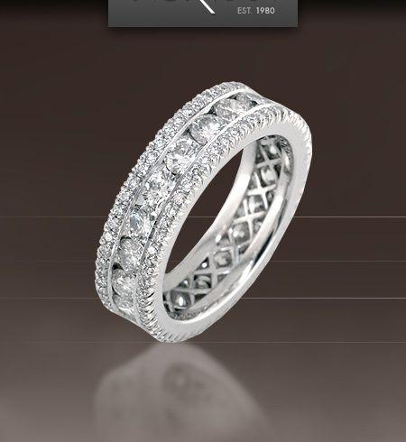 Vintage Diamond Wedding Bands for Online Sale