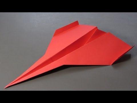 Paper Airplanes - How to make a Paper Airplane that Flies Far - Paper Airplane Tutorial | Blackbird