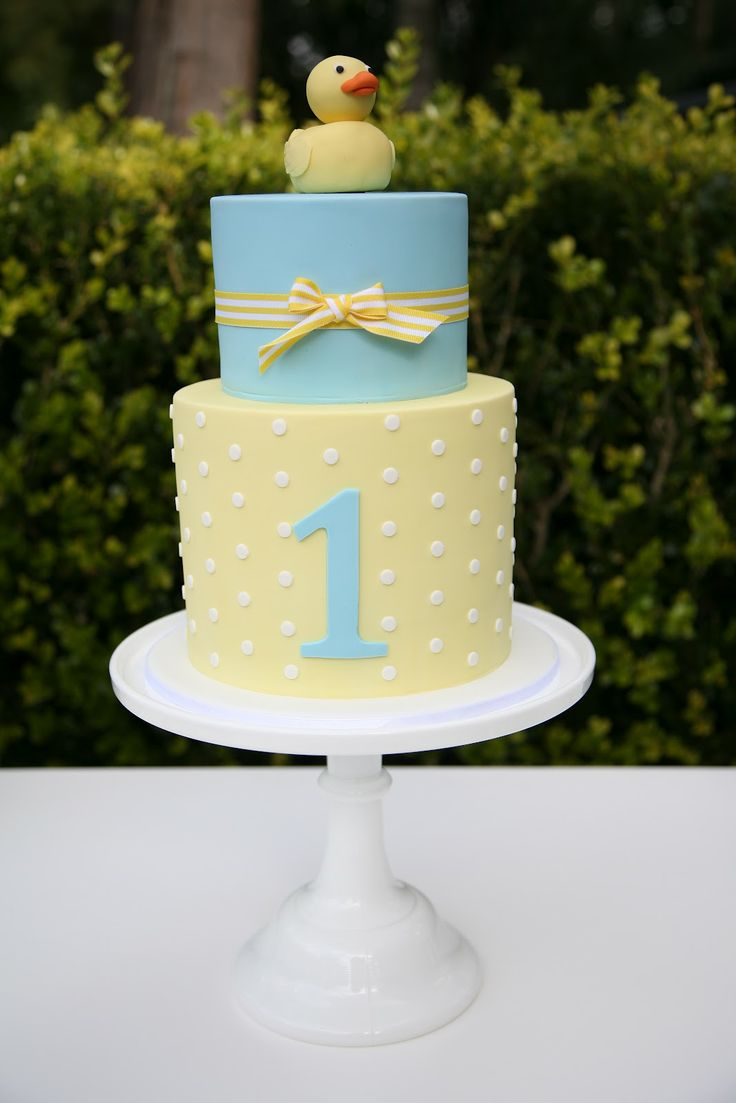 A little Polkadot: Blue & Yellow Ducky 1st Birthday.. I WANT THIS please and thank you