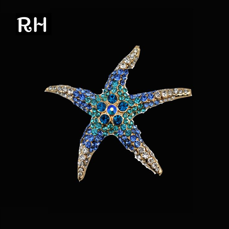 Blue/Green Crystal Rhinestone Starfish Brooche //Price: $19.95 & FREE Shipping //     #Promise Rings   Blue/Green Crystal Rhinestone Starfish Brooche           27.99,   19.95  https://mymonsterdeal.com/blue-green-crystal-rhinestone-starfish-brooche/    My Monster Deal