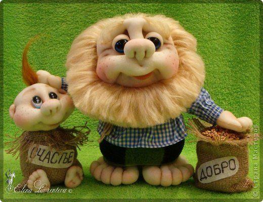 Куклы Шитьё Домовые бывают разные Домовитые и веселые   Капрон фото 1