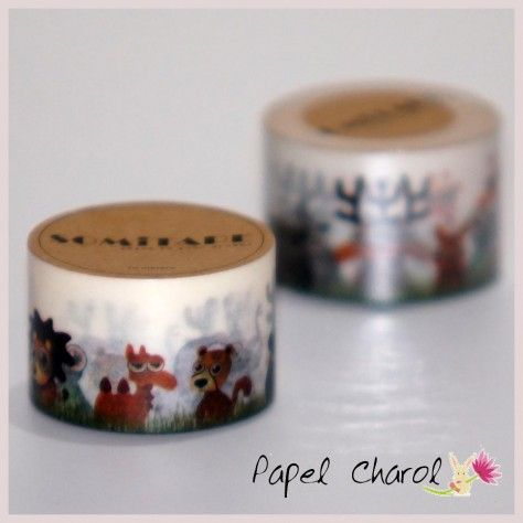 Washi Tape Mini Jungla