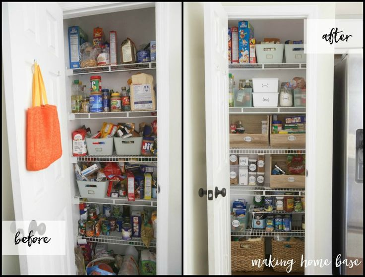 32 best pantrykitchen organization images on pinterest 29 pantry organization ideas for your kitchen to get things de cluttered and managed solutioingenieria Images