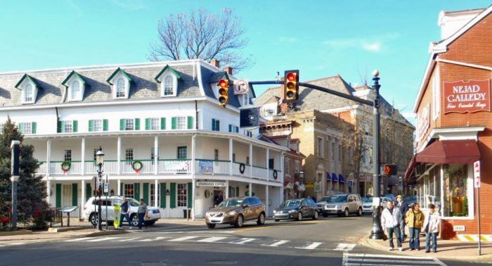 But, once you stroll down the enchanting streets of downtown Doylestown, dotted with quaint shops and eclectic restaurants, you'll have little incentive to leave.