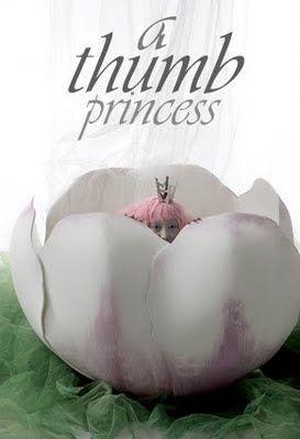 """A Thumb Princess"": Daul Kim Plays Thumbelina by Kim Jung Han for Vogue Girl Korea"