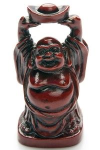 For good luck in all matters including good fortune and great abundance it would be wise to choose a Laughing Buddha statue where he is holding a bowl.  The bowl symbolizes receiving good fortune. The owner of this statue shows that he or she is open and ready to receive all good things.